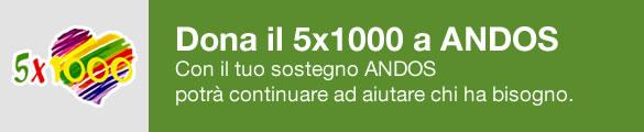 Dona il 5x1000 ad Andos Catania