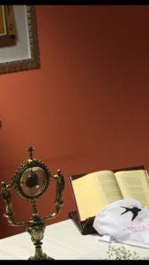 La reliquia della mammella di Sant'Agata